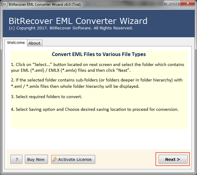EML to PST Free Software for Converting Windows Live Mail to
